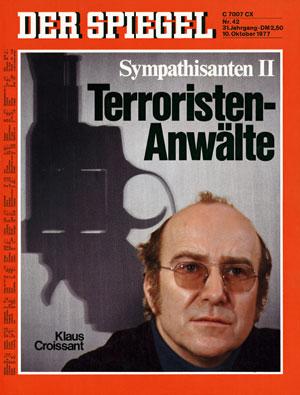 SPIEGEL-Titel vom 10. Oktober 1977