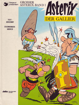 Asterix der Gallier, Stuttgart 1968, Cover.