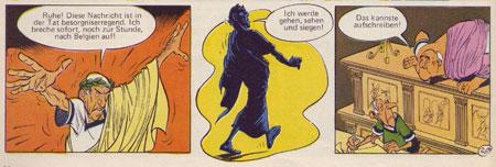 Asterix bei den Belgiern, Stuttgart 1979, S. 30.