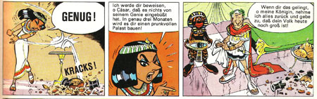 Asterix und Kleopatra, Stuttgart 1969, S. 5.