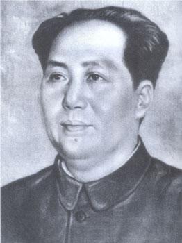 Das (zweite) Mao-Porträt von Xin Mang, Herbst 1950