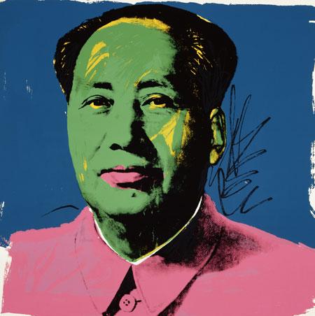 Andy Warhol, Mao (Print), 1973