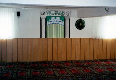 """Frauengebetsraum einer Moschee des """"Vereins Islamischer Kulturzentren"""" (VIKZ) in Bielefeld"""