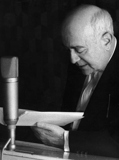 Theodor W. Adorno, ca. Mitte der 1960er-Jahre (Foto: Peter Zollna)