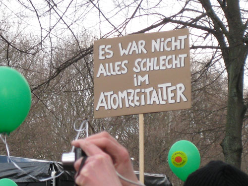 Antiatomdemo in Berlin, 26.03.2011, Foto: Axel Doßmann
