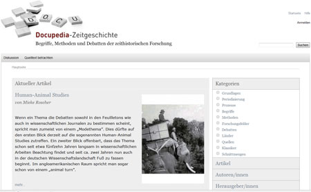 Startseite (Juli 2012)