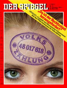 """""""Spiegel""""-Titel vom 28.3.1983"""