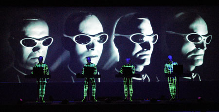 Kraftwerk live, Royal Festival Hall, London 2004