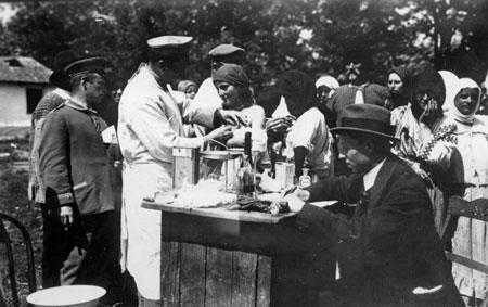 Bereits der Erste Weltkrieg forcierte die Gesundheitsvorsorge.