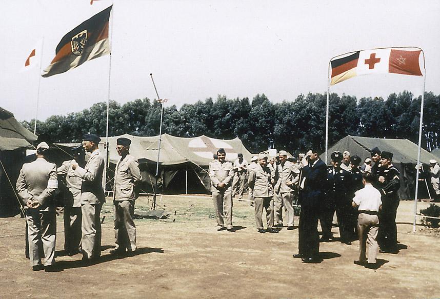 Bundeswehr-Soldaten in Marokko, 1960