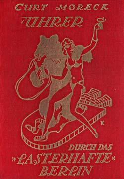 Cover des Reiseführers von Curt Moreck