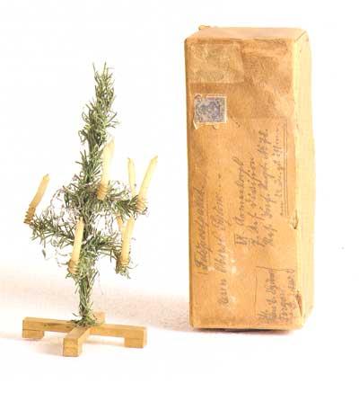 Klappweihnachtsbaum für die Front, Deutschland 1917