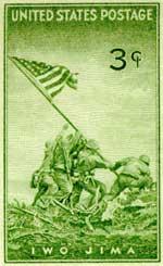Briefmarke vom Juli 1945 (Sammlung Dülffer)