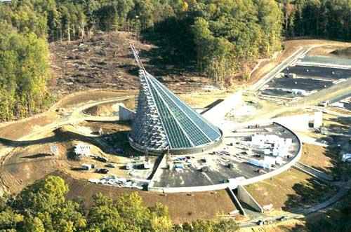 Das Marine Corps Heritage Museum in Quantico, Virginia, geplante Eröffnung November 2006