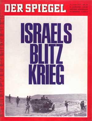 Spiegel-Titelseite vom 12.6.1967