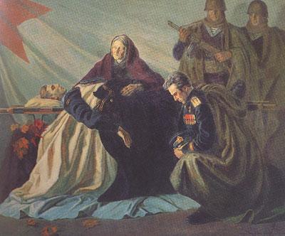Fjodor Bogorodski, Ruhm den gefallenen Helden, 1945