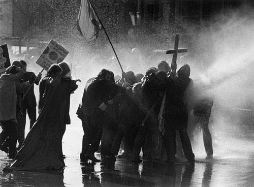 Ostermarsch in Berlin 1968