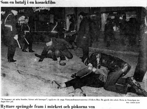 Die Auseinandersetzungen zu Weihnachten 1967 werden als dramatisch dargestellt
