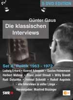 Günter Gaus, Die klassischen Interviews, Set A