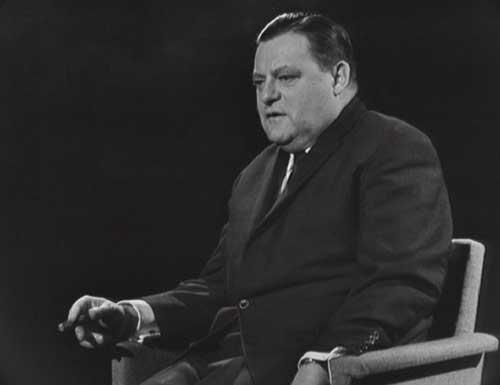 Franz Josef Strauß in seinem ersten Gespräch mit Günter Gaus (29.4.1964)