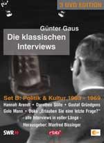 Günter Gaus, Die klassischen Interviews, Set B