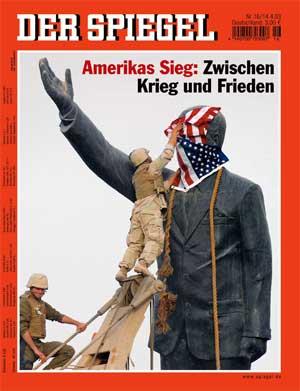 Spiegel-Titel vom 14.04.2003