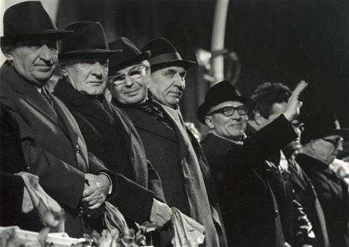 30. Jahrestag der DDR mit den Ostblockführern, Berlin 1979