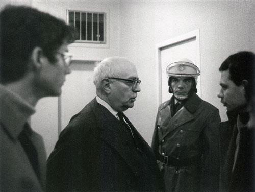 Theodor W. Adorno, Institut für Sozialforschung, Frankfurt a.M. 1969