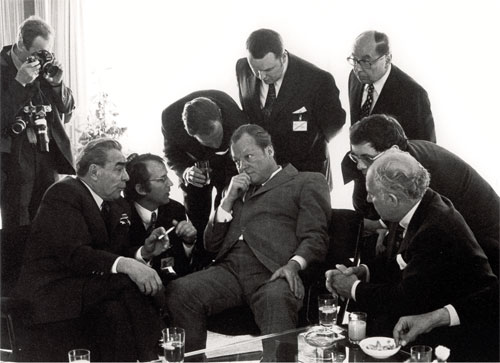 Leonid Breschnew, Willy Brandt, Bonn 1973