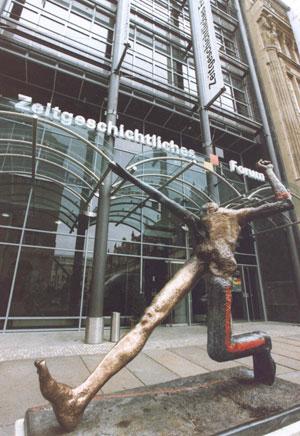Fassung der Plastik vor dem Zeitgeschichtlichen Forum in Leipzig