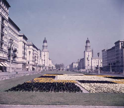 Berlin (East), Stalinallee