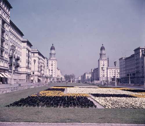 Berlin (East), Stalinallee