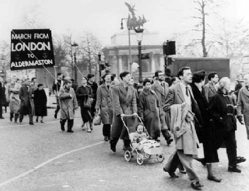 Aldermaston March, London 1958