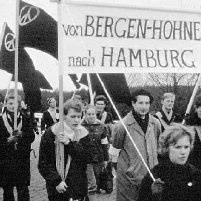 Easter March 1962, Bergen-Hohne to Hamburg