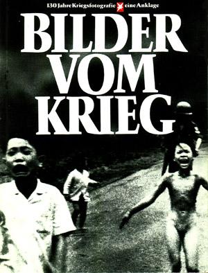 Titelblatt des 'stern'-Buches 'Bilder vom Krieg', 1983