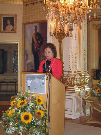 Kim Phúc 2003 als UNESCO-Friedensbotschafterin