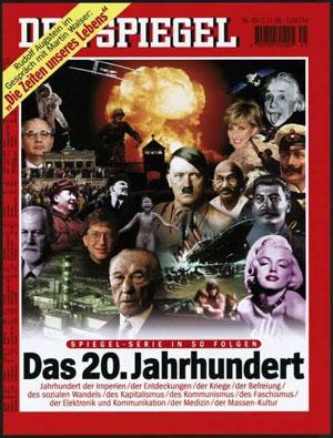 'Spiegel'-Titel, 2.11.1998