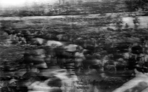 Gerhard Richter, Beerdigung (1988), Öl auf Leinwand