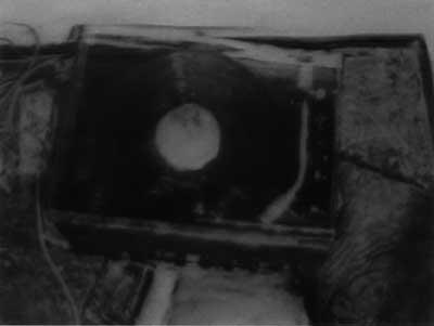 Gerhard Richter, Plattenspieler (1988), Öl auf Leinwand