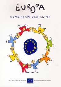 Plakat zum Europatag 1997