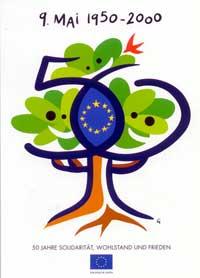 Plakat zum Europatag 2000