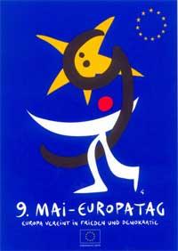 Plakat zum Europatag 2001