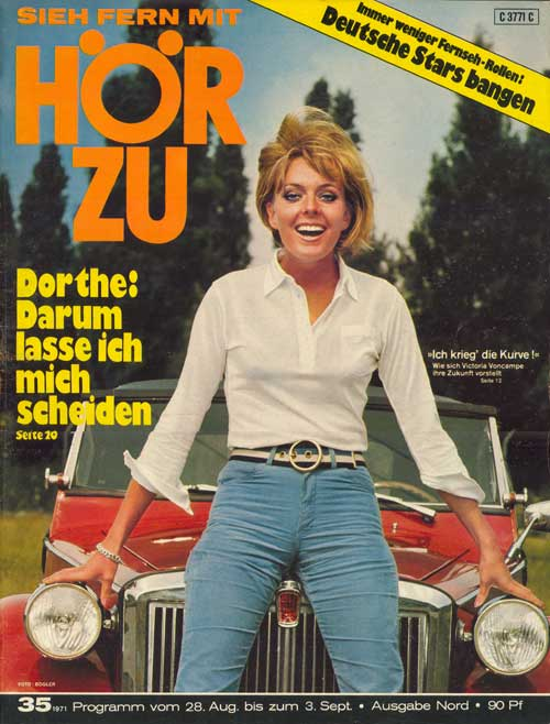 HÖR ZU Nr. 35/1971