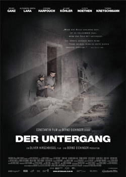 Filmplakat 'Der Untergang'