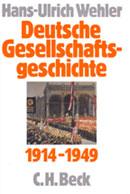 Buchcover: Hans-Ulrich Wehler, Deutsche Gesellschaftsgeschichte