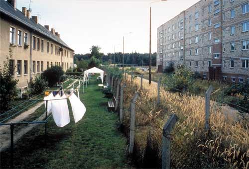 Görden, Wohnsiedlung für Zuchthausangestellte, 1995 (Michael Schroedter)