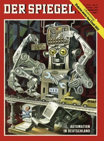 »Spiegel«-Cover 1. April 1964